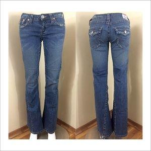 True Religion 503 Bridget stone & tint jeans 29